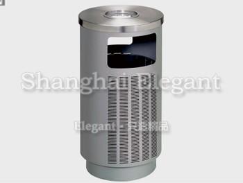 圆形钢结构烟灰垃圾桶